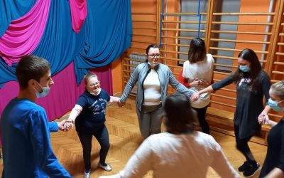 Plesni dan v oddelkih posebnega programa